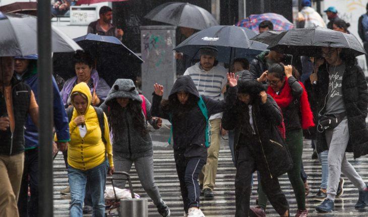 Tormenta Rosa provocará lluvia en 18 estados
