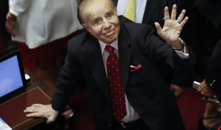 Tribunal penal argentino absolvió a Carlos Menem por contrabando de armas