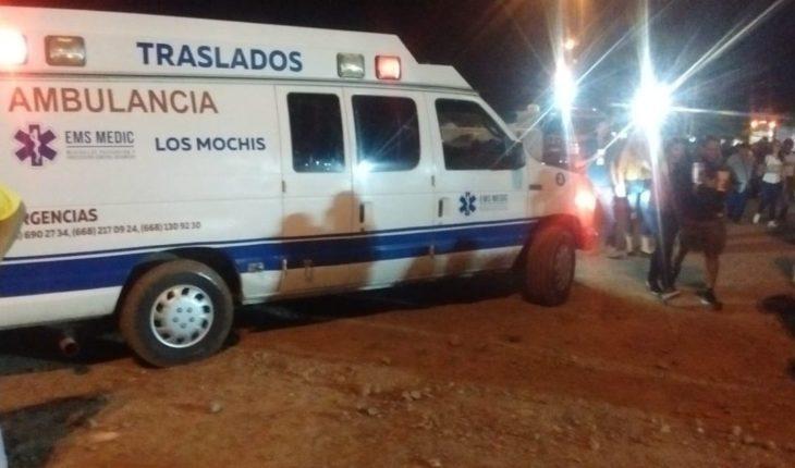 Un lesionado al caer del estadio Emilio Ibarra Almada