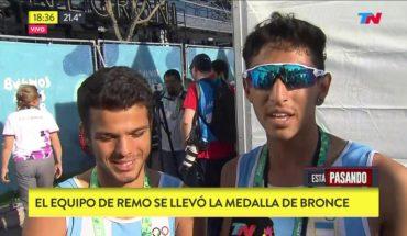 JUEGOS OLÍMPICOS DE LA JUVENTUD | Primera medalla olímpica para la Argentina