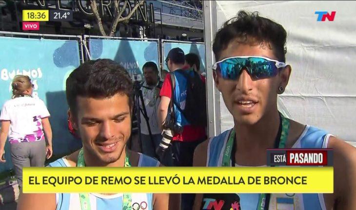 JUEGOS OLÍMPICOS DE LA JUVENTUD   Primera medalla olímpica para la Argentina