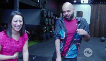 La Red: Mariana Pajón  puso a sudar a Carlos Vargas en su gimnasio | Caracol Televisión