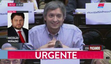 Máximo Kirchner a indagatoria