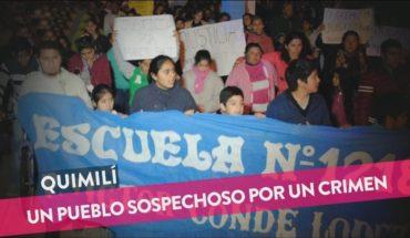 Quimilí: Más de 3000 pruebas de ADN por un asesinato