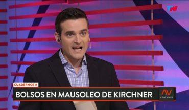 Un testigo dijo que sacaron 40 bolsos con dinero del Mausoleo de Néstor Kirchner | A DOS VOCES