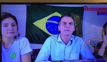 ¿Se fijó en la menorá detrás del próximo presidente de Brasil?