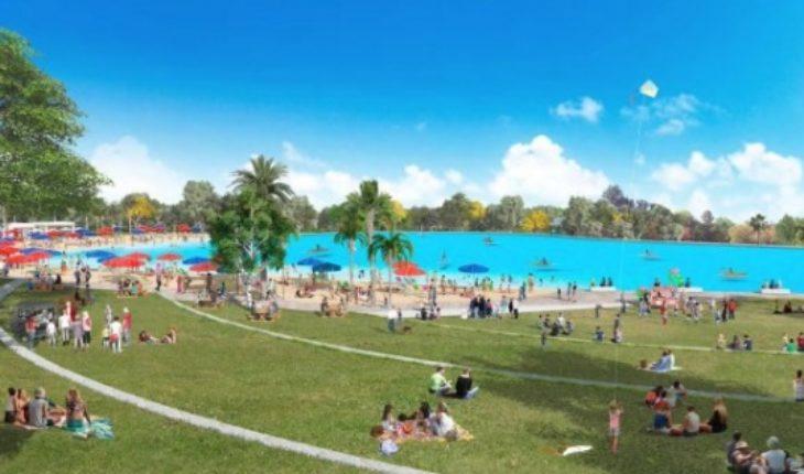 """""""Cancún style"""": la votación por la laguna artificial en el Parque Padre Hurtado que desata las pasiones"""