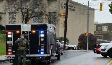 """10 asesinados tras el ataque a una sinagoga en Pittsburgh: Trump planteó la """"pena de muerte"""""""
