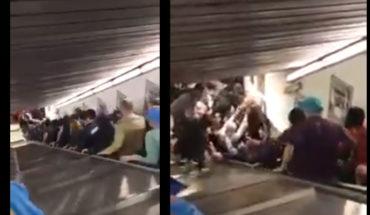 20 personas resultan heridas al venirse abajo una escalera eléctrica en el metro de Roma