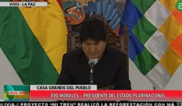 """A realigned Evo Morales is not even replaced of the ruling of the Hague: """"Has enormous contradictions"""""""