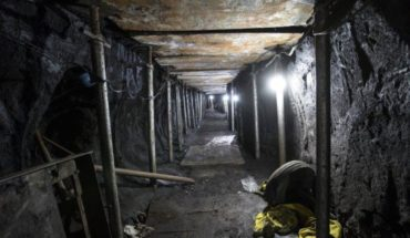 A tunnel found in Paraguay for rescuing 80