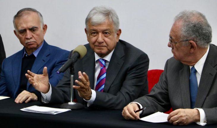 AMLO confirma que Santa Lucía va; se cancela obra en Texcoco