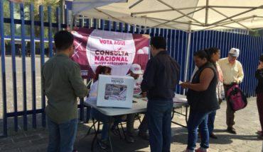 AMLO estima cerca de un millón de votos en consulta