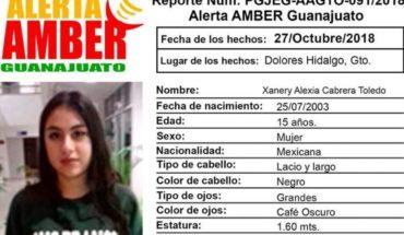 Activan Alerta Amber para localizar a Xanery Alexia, de 15 años