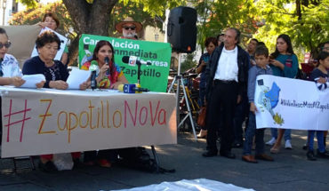 Activists of Jalisco ask AMLO not to continue the construction of the aqueduct Zapotillo