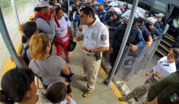 Alrededor de mil integrantes de la caravana migrante ya son atendidos en albergues de Tapachula
