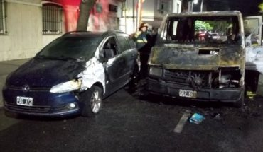 Appeared burned the car of Kicillof