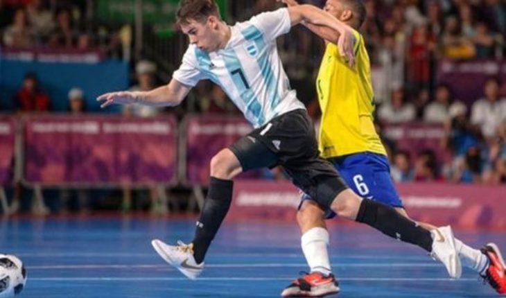 Argentina perdió ante Brasil en futsal y ahora va por el bronce