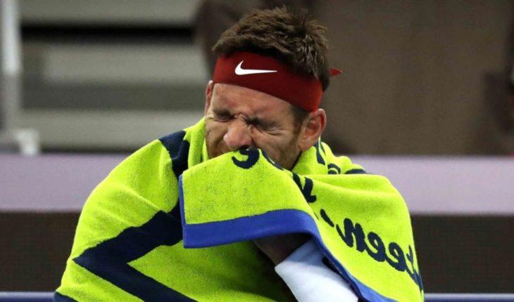 Bad news for del Potro, confirms fracture of patella