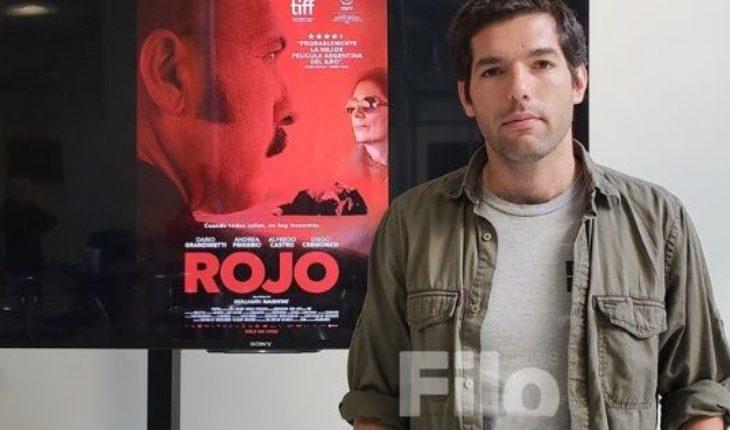 """Benjamín Naishtat, director de """"Rojo"""": """"Es interesante explorar la mirada generacional"""""""
