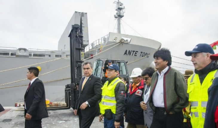 Bolivia will run alternatives to Chilean ports with projects on the coasts of Peru