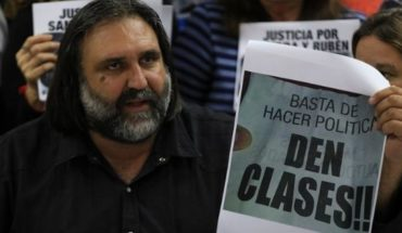 Buenos Aires teachers announced a strike for 48 hours