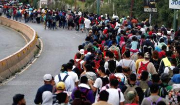 Caravana migrante tensa relaciones entre México y Estados Unidos