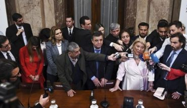 """Carrio could not assume in Congress: """"I love to be proscribed and gorda"""""""