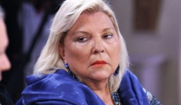 Carrio salient phrases: it will ask for the impeachment of Garavano and gave him an ultimatum to Macri