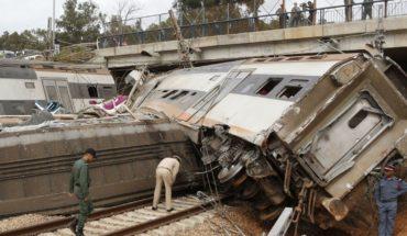 Catástrofe en Marruecos; mueren 7 tras descarrilar tren