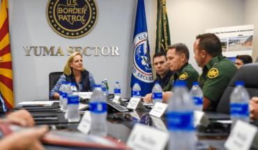 """Cruce de caravana a EEUU será """"humanitario"""" y """"ordenado"""""""