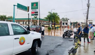 Deja Willa inundaciones y drenes a su máxima capacidad en Morelia