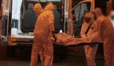 Dejan cadáver colgado con narcomensaje en puente vehicular de Copándaro