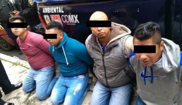 Detienen a 12 personas por presunto robo a camión en CdMx