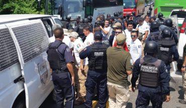 Detienen al menos a 100 migrantes que intentaban llegar a Tapachula