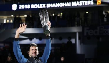 Djokovic wins the Masters of Shanghai and is close to the N ° 1 in the world