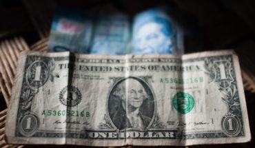 El dólar cotiza arriba de los 20 pesos y la Bolsa Mexicana cae 0.49%