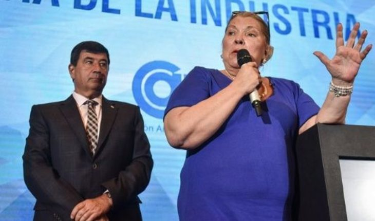 "Elisa Carrió: ""go to AmigaOS me with the President when I remove it to Garavano"""