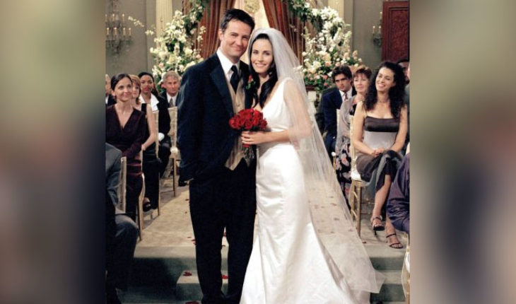 Fans detected error in the Monica Geller in Friends Wedding dresses