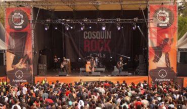 First day of Cosquin Rock in Chile