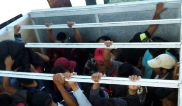 Found 67 migrants who were crammed in vehicles