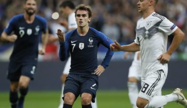 Francia agudizó la crisis de Alemania y la derrotó en la Liga de las Naciones de la UEFA