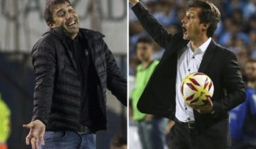 Guillermo Barros Schelotto and Eduardo Coudet, to declare the papelón in Avellaneda