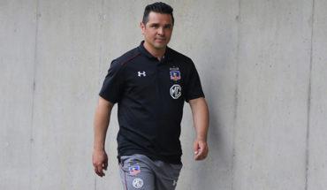 Héctor Tapia seguirá al mando de Colo Colo hasta final de campeonato