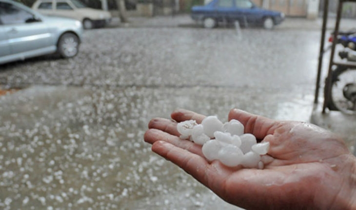 Heavy rains and hail in the South of the country