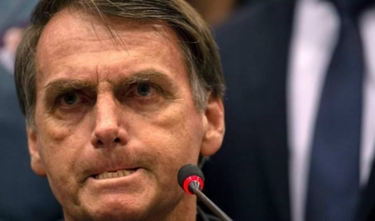 """I'm not homophobic"": Bolsonaro friend of homosexuals in search of votes"