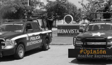 La violencia en Buenavista, Michoacán