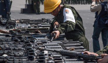 Las deficiencias en la compra legal de armas que hace el Ejército