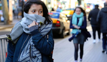 Low temperatures are expected in the morning due to the front cold 6 in much of the country