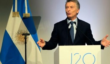"""Macri: """"the Argentina is strongly committed to justice"""""""